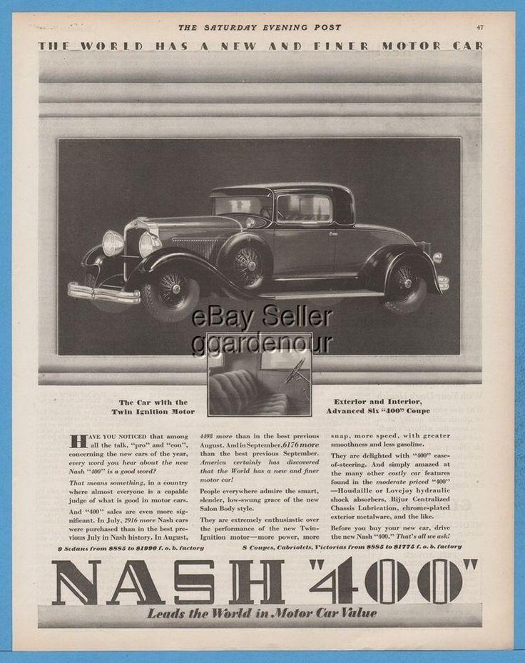 747 best Antique Automobile Ads images on Pinterest | Automobile ...