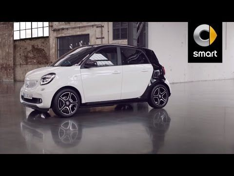 The new smart forfour. The smart among the fourseaters. 2 - YouTube