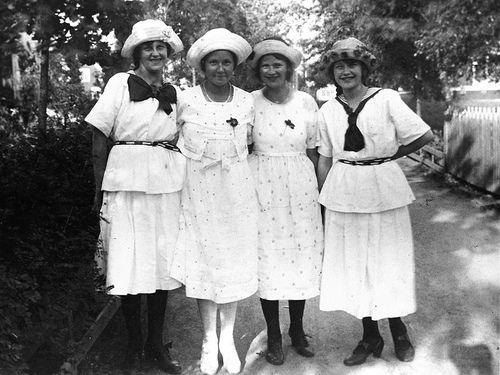 kleding- en modegeschiedenis 1920