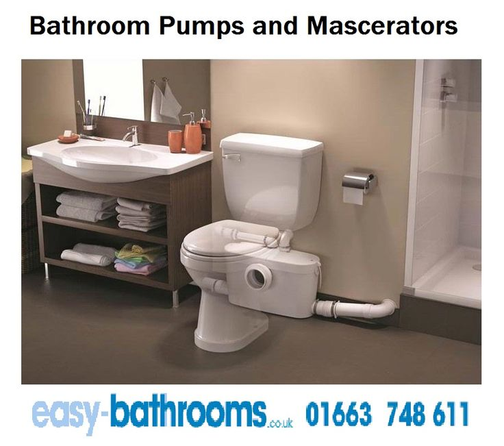 Install Bathroom Mascerators Pump Without Construction Anywhere! Perfect  For Remodeling And Match With Modern Bathroom
