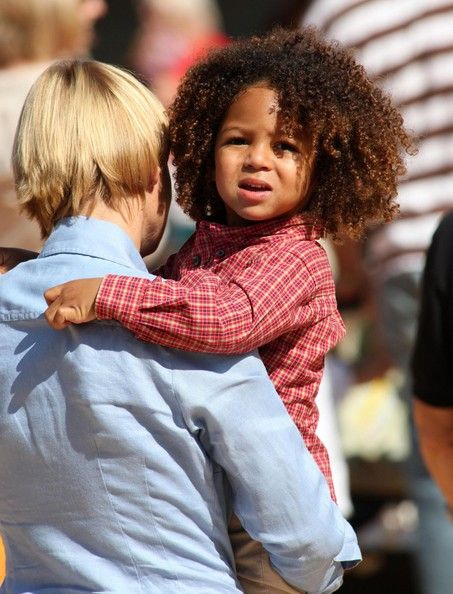 Mixed Boys With Curly Hair Cute Biracial Kids Mixed