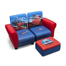 Cute For Game Room Disney Pixar S Cars Sofa And Ottoman