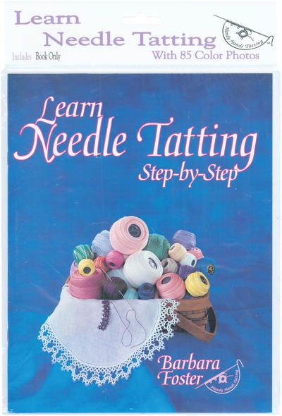 Learn Needle Tatting Step By Step | Embroidary | Pinterest ...