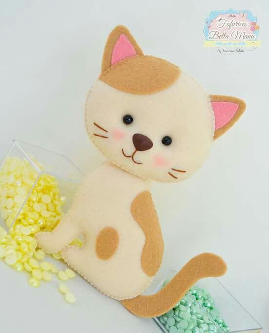 Gato feltro