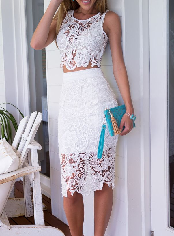 17 Best ideas about Lace Skirt on Pinterest | Black lace skirt ...