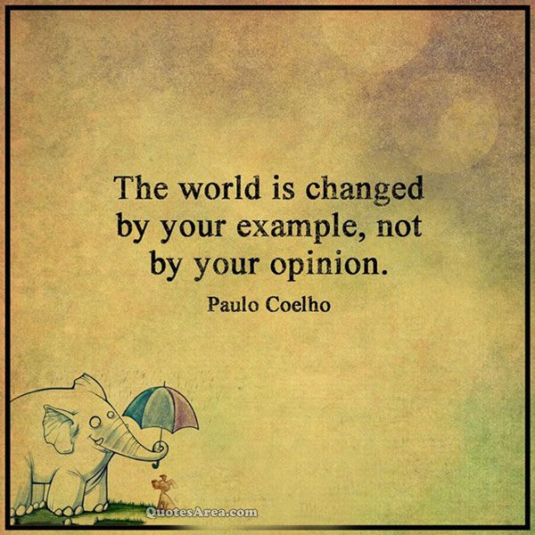 The world is changed  #quotes
