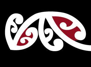 Maori border pattern
