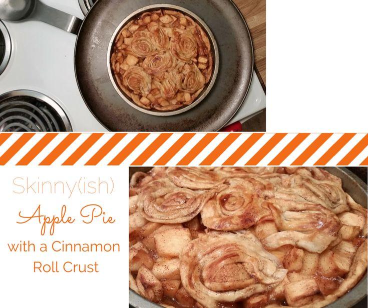 ... with Cinnamon Roll Crust | Cinnamon, Pie recipes and Cinnamon rolls