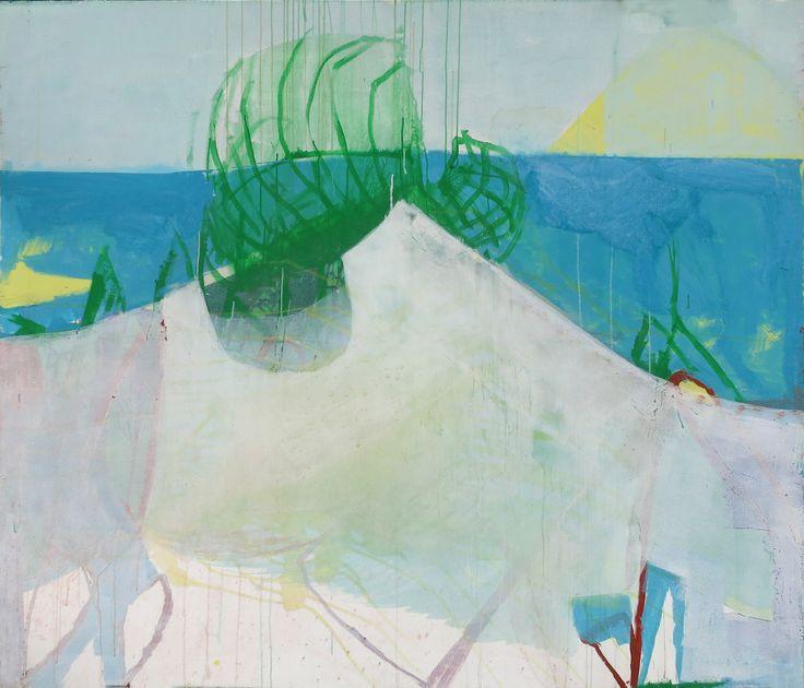 """""""Berlin am Meer"""", 160 x 185 cm, acrylic on canvas, Marco Kaufmann 2013"""