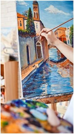 Paint Like An Artist Learn How To Use Easy Quick Drying Inexpensive Acrylic