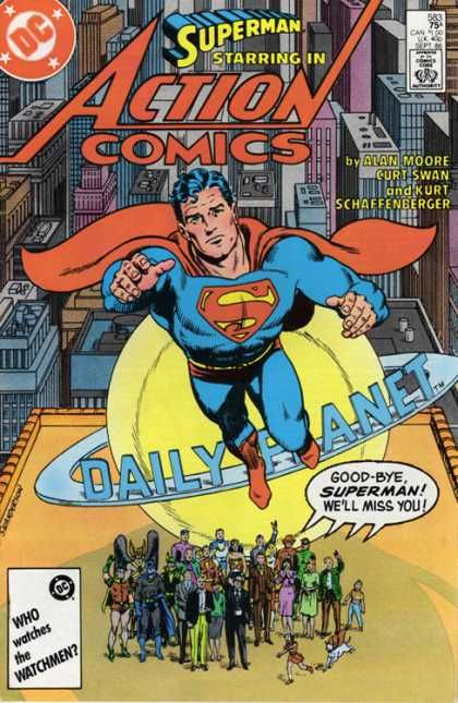 Daily Planet - Superman - Alan Moore - Goodbye - Robin - Curt Swan, Murphy Anderson