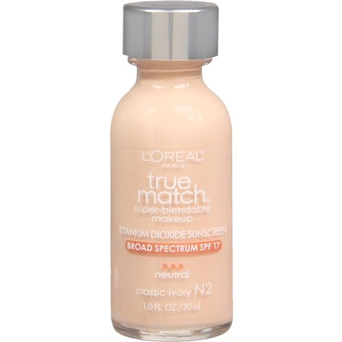 Best Drugstore Foundation | Beauty High loreal true match