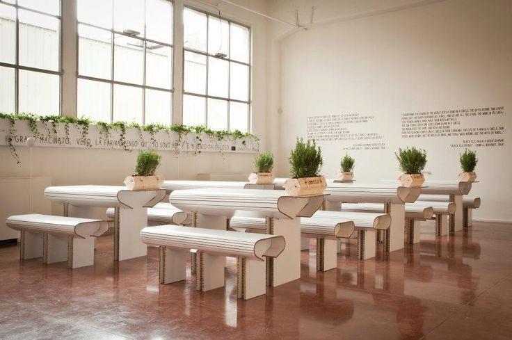 Alce Nero: arredamento di Corvasce Design, 2012 #corvascedesign #design #interior #architecture #restaurant
