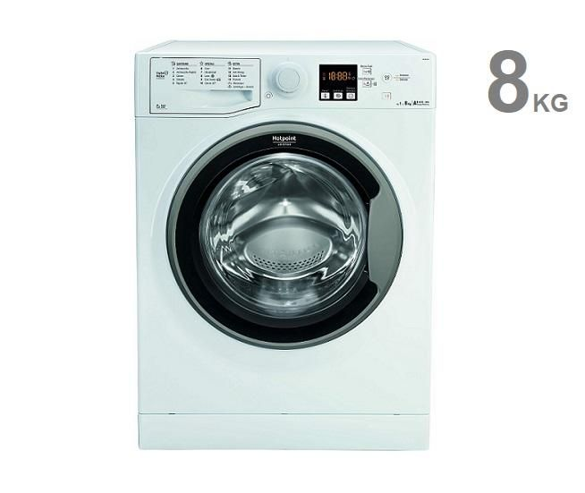 Lavatrice 8 Kg Hotpoint Ariston A+++ 61 cm Carica frontale