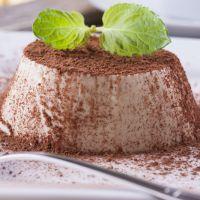 Silky White Chocolate Mint Custard