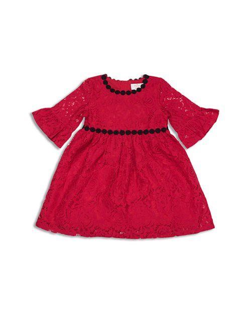 838f75fa9 kate spade new york - Girls' Lace Dress - Little Kid | Jetblack ...