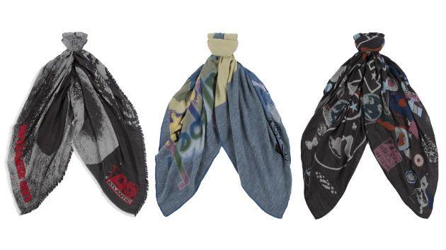 Пол Смит и Led Zeppelin представили новую коллекцию шарфов #ModnaKraina