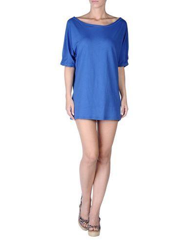 ¡Cómpralo ya!. GUESS BEACHWEAR Vestido de playa mujer. punto jersey, logotipo, monocolor, sin bolsillo , vestidoinformal, casual, informales, informal, day, kleidcasual, vestidoinformal, robeinformelle, vestitoinformale, día. Vestido informal  de mujer color azul marino de GUESS BEACHWEAR.