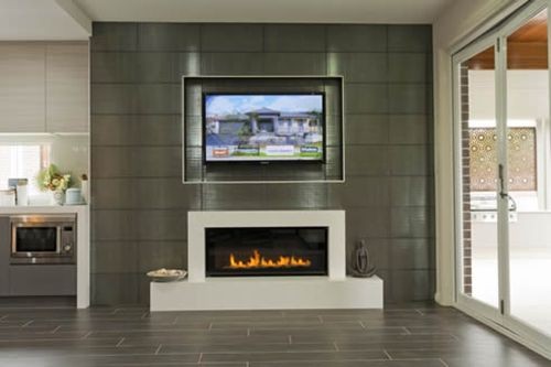 Would you put a TV above your #Jetmaster fireplace?