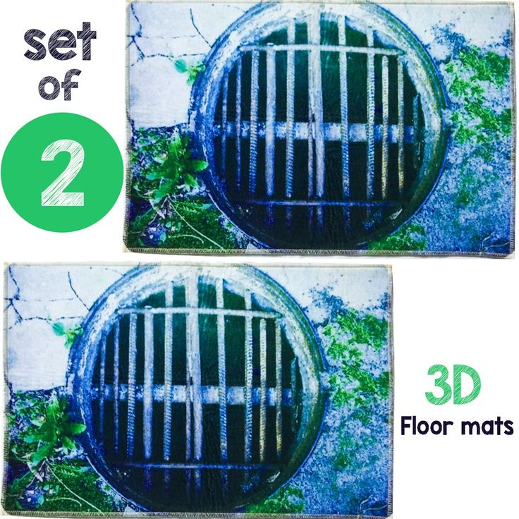 Set of 2 Bath Mats To Joke My Drunk Friends Original 3D Bath Mats, Well Anti-Slip and Anti-bacterial Bath Rugs for Bathroom or Bedroom Decor Carpets, Rugs