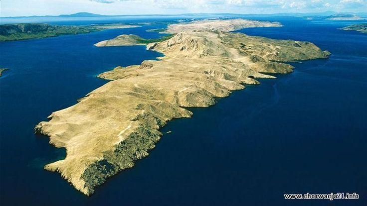 Północna Dalmacja - Chorwacja http://www.chorwacja24.info/ #chorwacja #croatia #kroatien #hrvatska Wyspa Pag
