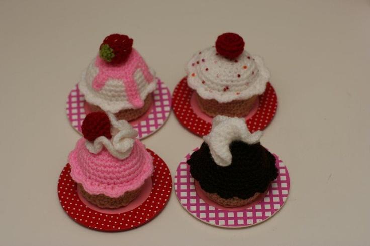 haakpatroon cupcakes