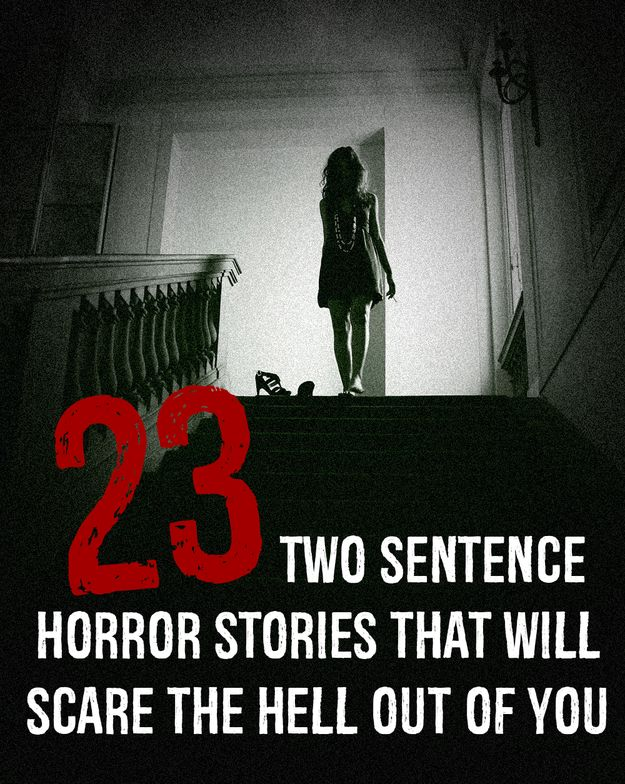 Sentence openers for horror stories