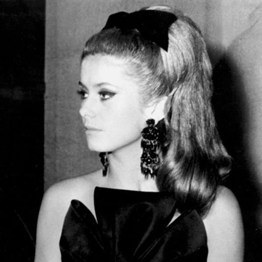 Très belle! Back in the '60s, style muse and actress Catherine Deneuve was one of Patrick Alès' A-list celeb clients to receive his PHYTO blowout treatment.