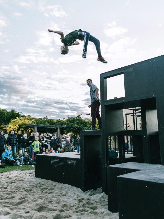 Teen Playground, KATOxVictoria, Slangerup Denmark, 2013 - Playscapes