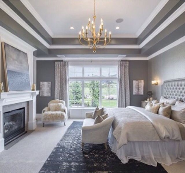 Master Bedroom Tray Ceiling Designs: Living Room Ceilings Images On Pinterest