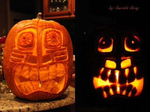 TIKI Pumpkin!