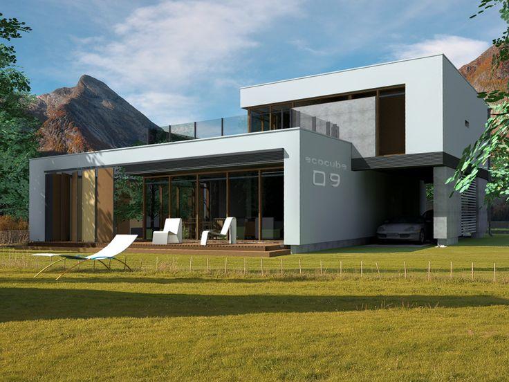 Projekt domu EC NARVIK - DOM 1-04 - gotowy projekt domu