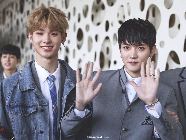Justin & Choi Mingi (최민기) aka Ren of Nu'est