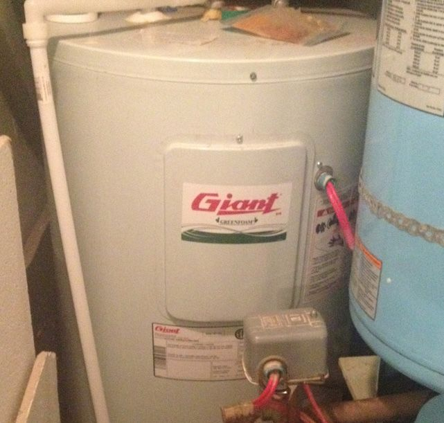 how to change a water heater