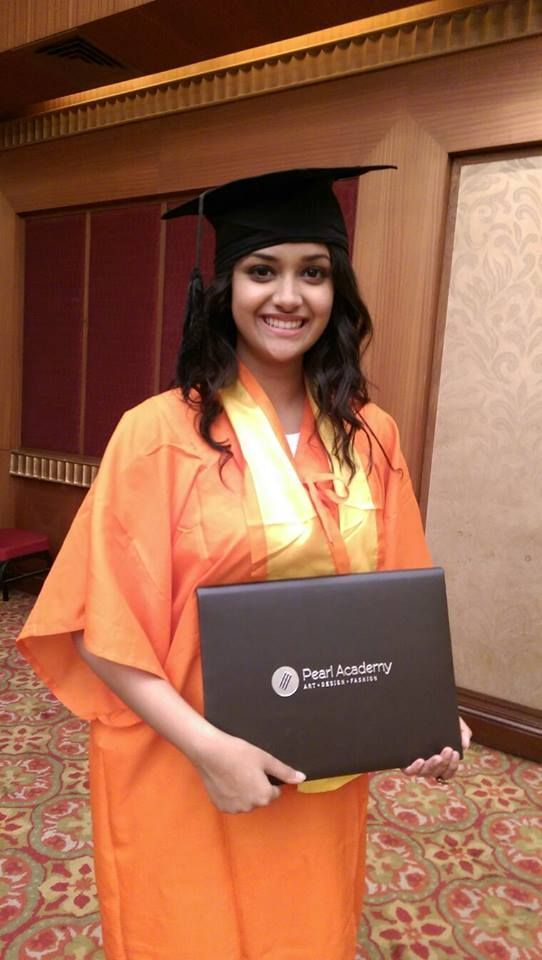 Keerthi Suresh Graduate in B.A Hons: