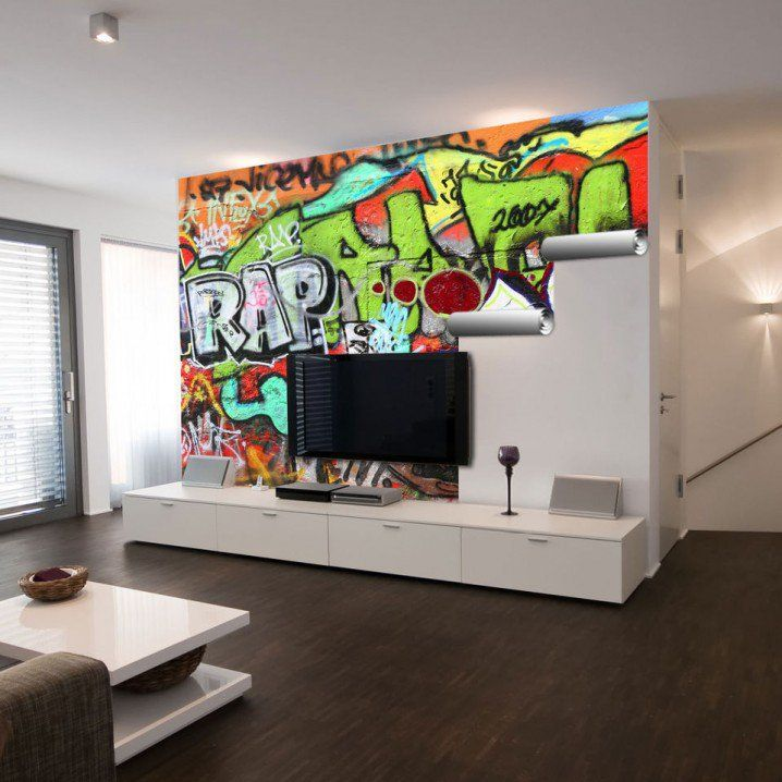25+ Best Ideas About Graffiti Wall Art On Pinterest