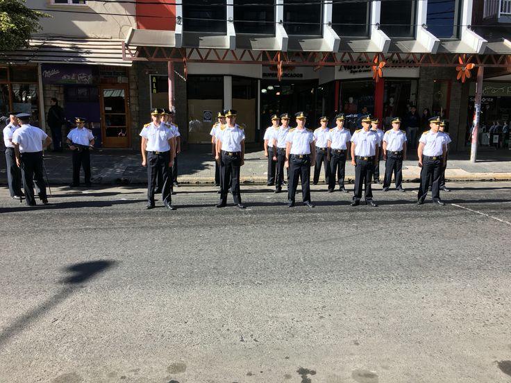 Military parade - Bariloche