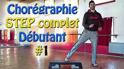 Chorégraphie STEP débutant #1 - Cours de STEP complet français - Apprend...