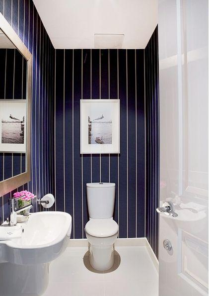 best 20+ striped bathroom walls ideas on pinterest | stripe walls