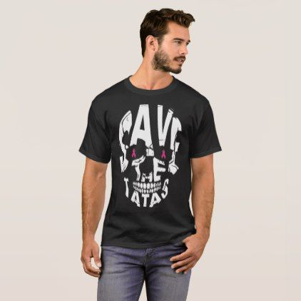 #save the tatas skull T-Shirt - #breastcancer #tshirts #support #awareness #wife #women #woman #breast #cancer