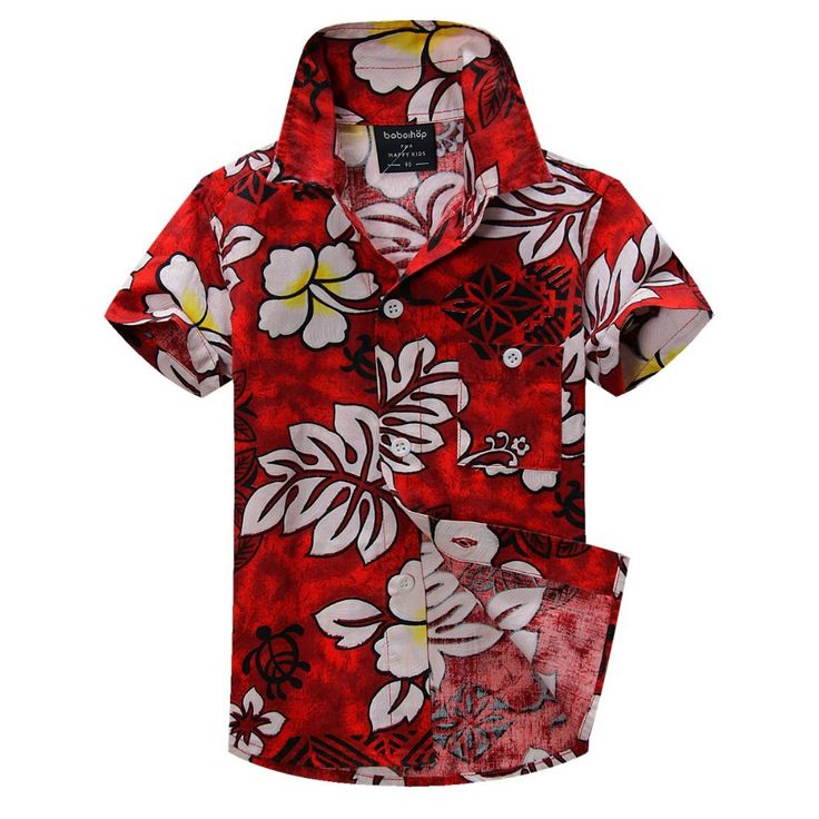 >> Click to Buy << cotton linen blended floral shirt hawaiian shirt aloha shirt for boy T1530 #Affiliate