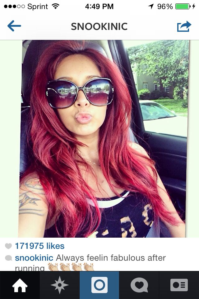 Snooki's red