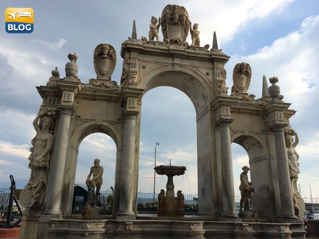 Fontana del Gigante a Napoli