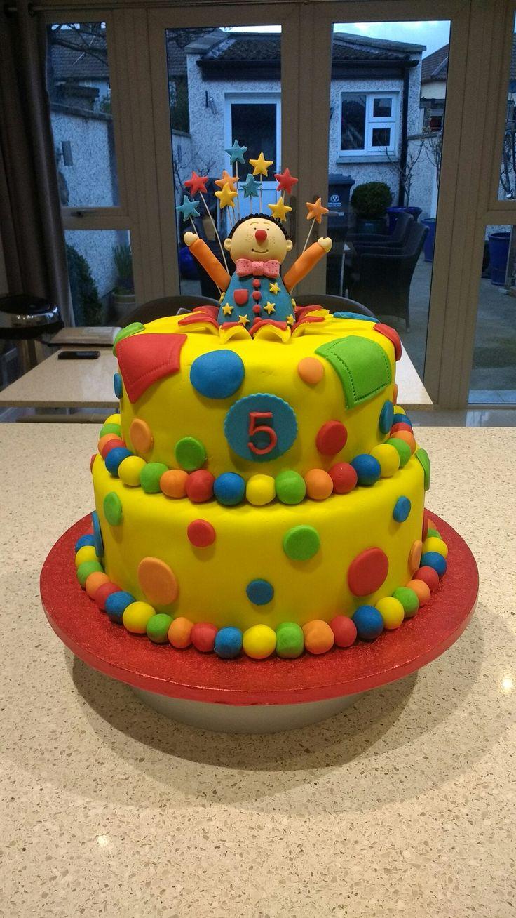 Mr.Tumble birthday cake