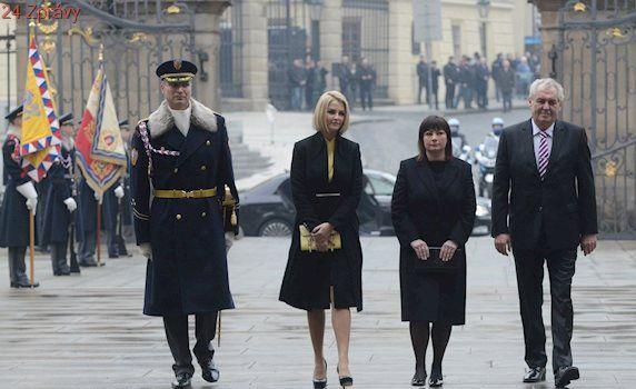 Ivana Zemanová přebrala roli dcery Kateřiny. Ta studuje antropologii v Londýně