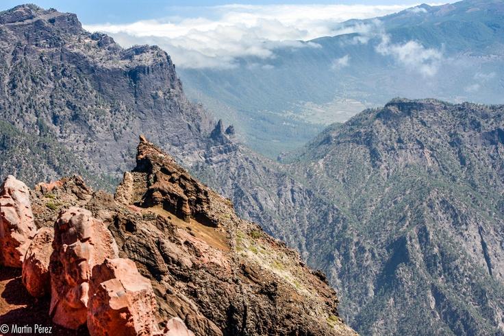 Desde el Roque de los Muchachos en la Palma - Canarias