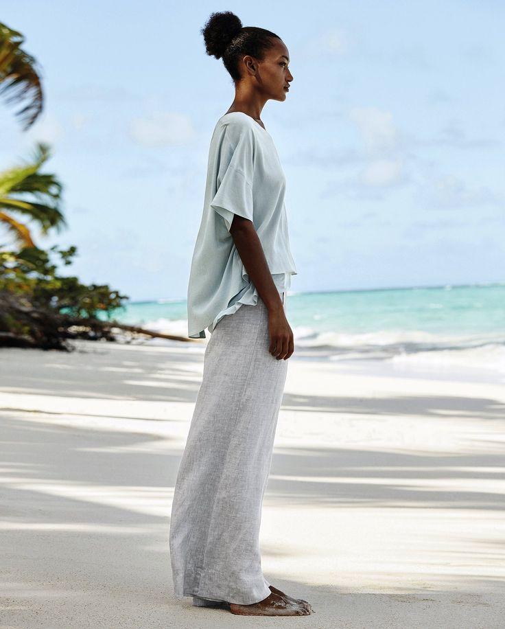 best 25 linen trousers ideas on pinterest white linen trousers wide leg linen pants and. Black Bedroom Furniture Sets. Home Design Ideas
