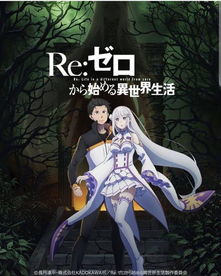 "Crunchyroll en Español on Instagram ""ReZERO, segunda"