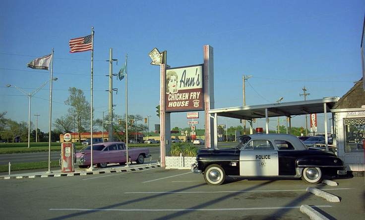Ann's Chicken Fry House, on old Route 66 in OKC, has a ...