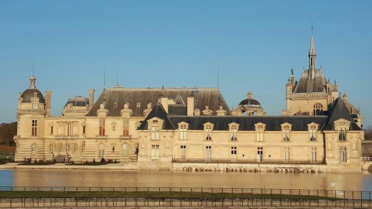 Chantilly castle north  of Paris november 11 2016
